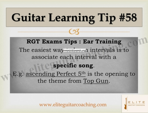 Guitar Learning Tip #58
