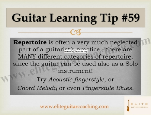 Guitar Learning Tip #59