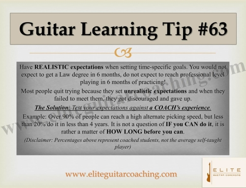 Guitar Learning Tip #63