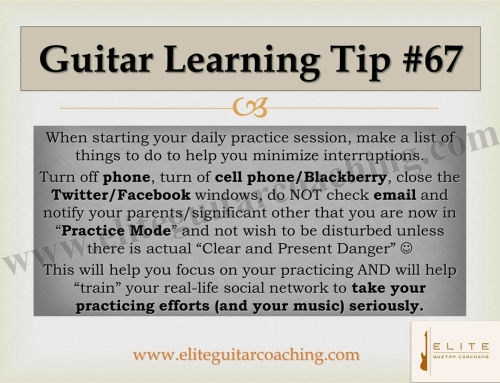 Guitar Learning Tip #67