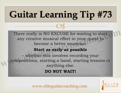 Guitar Learning Tip #73