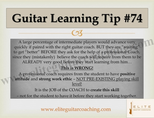 Guitar Learning Tip #74