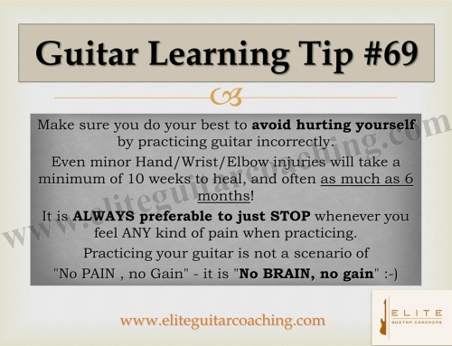 Guitar Learning Tip #69