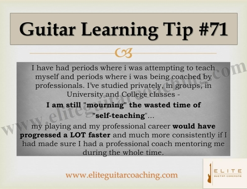 Guitar Learning Tip #71