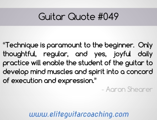 Guitar Quote of the Week