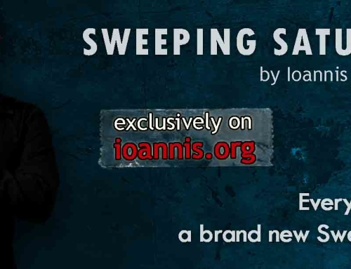 [Sweeping Saturdays] – Lick no. 35